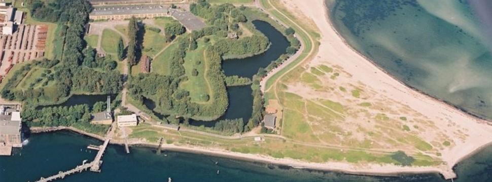 Festung Friedrichsort, Drohnenaufnahme