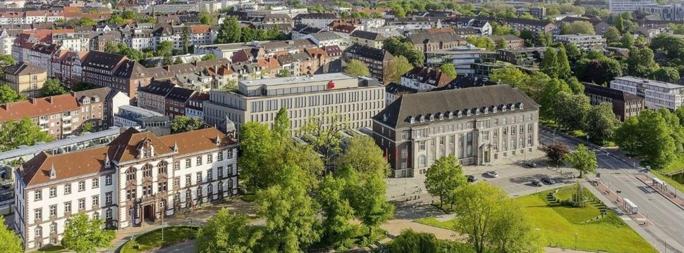 Altes Hauptgebäude der Sparkasse, Pressefoto