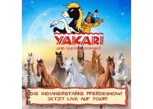 Yakari und Kleiner Donner - die einzigartige Pferdeshow für die ganze Familie