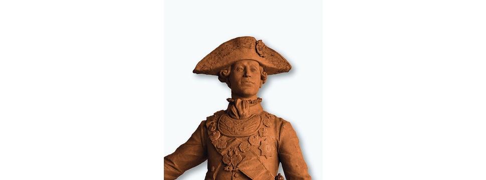 Bronzedenkmal für Zar Peter III. im Prinzengarten