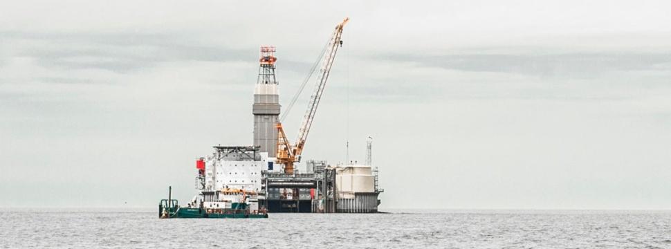 Ölbohrinsel Mittelplate, © Wintershall Dea / Achim Multhaupt