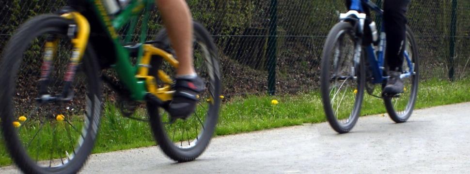 Fahrräder, © Claudia Hautumm / pixelio.de
